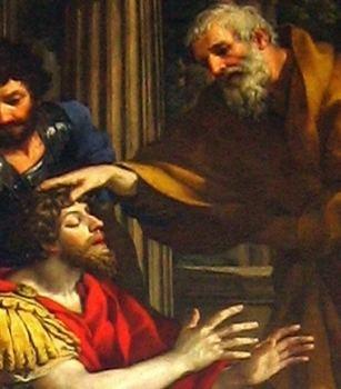 Ananias of Damascus CatholicSaintsInfo Blog Archive Saint Ananias of Damascus