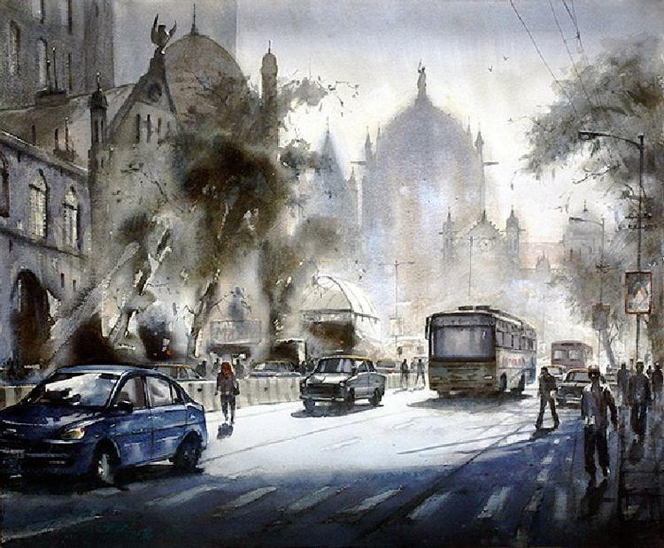 Ananta Mandal Mumbai Paintings Ananta MandalArt and design inspiration