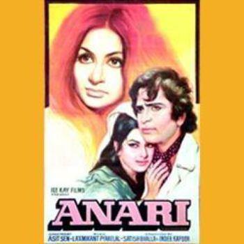 Anari (1975 film) Anari 1975 LaxmikantPyarelal Listen to Anari songsmusic