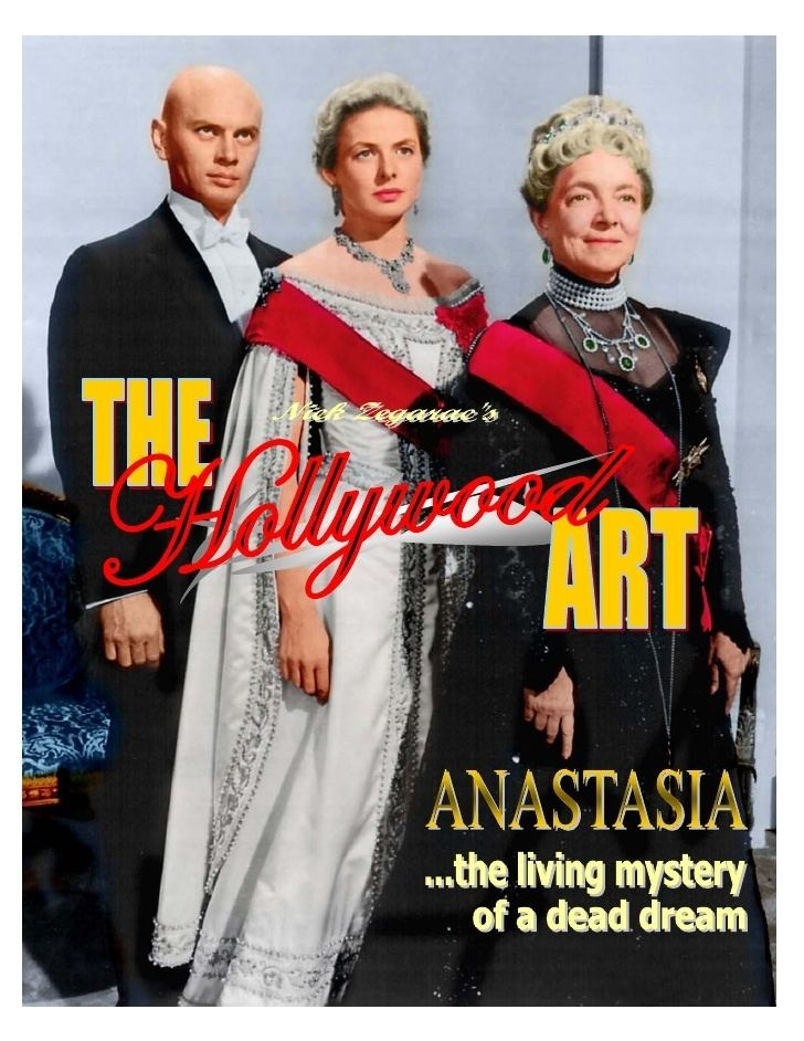 Anastasia (1956 film) 18 The Hollywood Art Anastasia 1956 1997