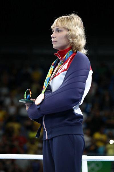 Anastasia Belyakova Anastasia Belyakova Photos Photos Boxing Olympics Day 14 Zimbio
