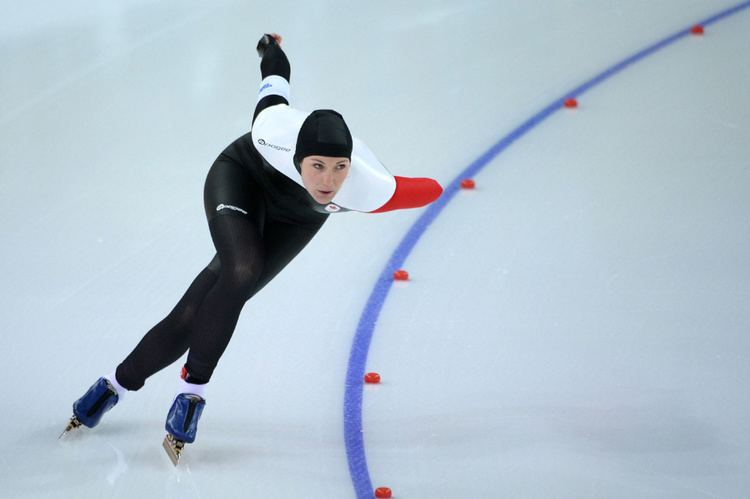 Anastasia Bucsis Speed skater Anastasia Bucsis proud of Olympic performance after