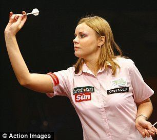 Anastasia Dobromyslova Im no gimmick warns Anastasia Queen of Darts Daily Mail Online