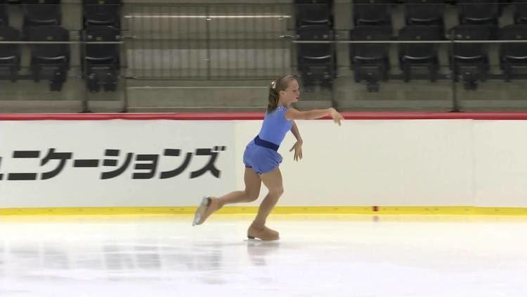 Anastasia Galustyan ISU 2014 Jr Grand Prix Tallinn Ladies Short Program