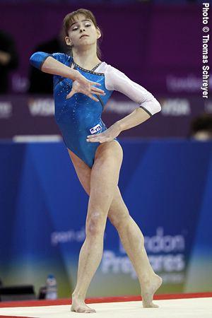 Anastasia Grishina International Gymnast Magazine Online Grishina Aims to Please at