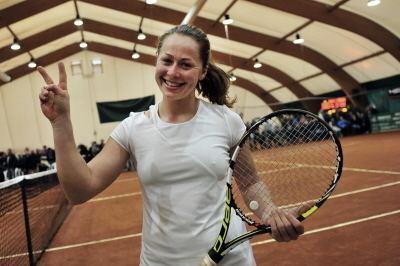 Anastasia Grymalska 25000 Beinasco ITA 2015 Feb 23 Winner Kristina