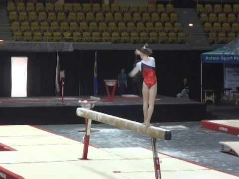 Anastasia Ilyankova Gymnix 2014 Anastasia Ilyankova EF BB YouTube