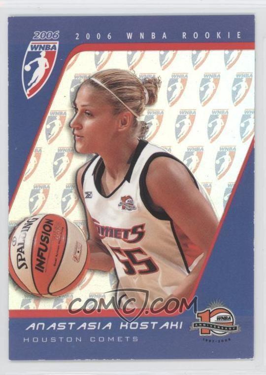 Anastasia Kostaki 2006 Rittenhouse WNBA Rookies RC27 Anastasia Kostaki