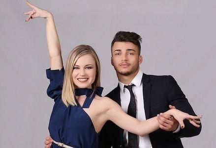 Anastasia Kuzmina (dancer) Fabio Basile Anastasia Kuzmina Flirt in corso a Ballando con le