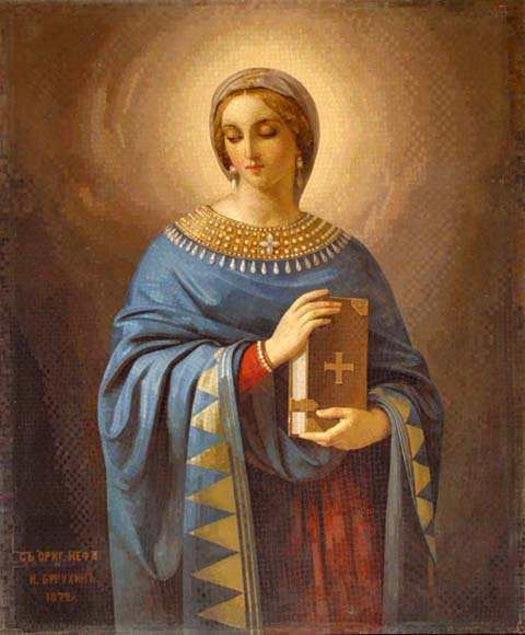 Anastasia of Sirmium December 20 Her church ranks third in Rome Nobility and