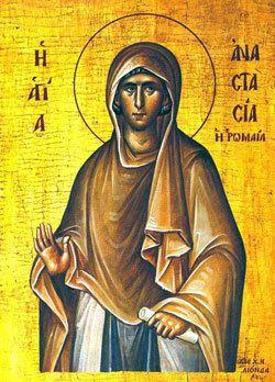 Anastasia of Sirmium St Anastasia Saints amp Angels Catholic Online