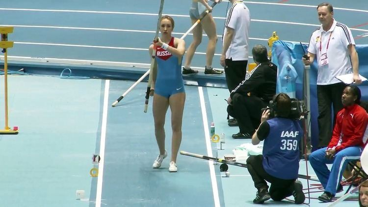 Anastasia Savchenko Very Very Beautiful Russian Female Pole Vaulter Anastasia Savchenko