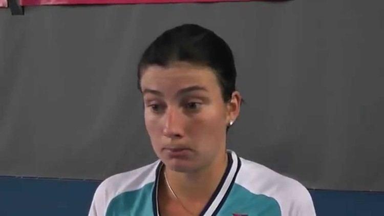 Anastasija Sevastova EMPIRE Womens Indoor 2015 Interviews Anastasija