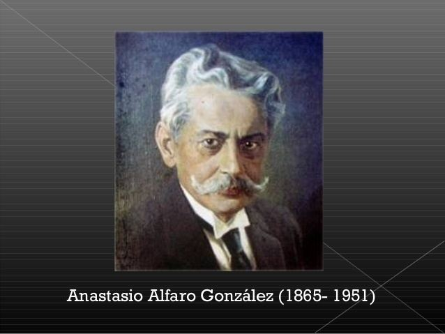 Anastasio Alfaro Anastasio alfaro red