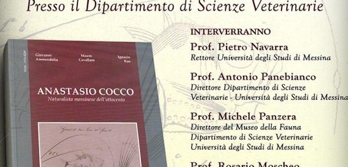 Anastasio Cocco Il naturalista messinese Anastasio Cocco in un libro realizzato dal