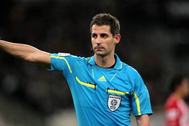 Anastasios Sidiropoulos Bayern Germany on Twitter Greek referee Anastasios Sidiropoulos