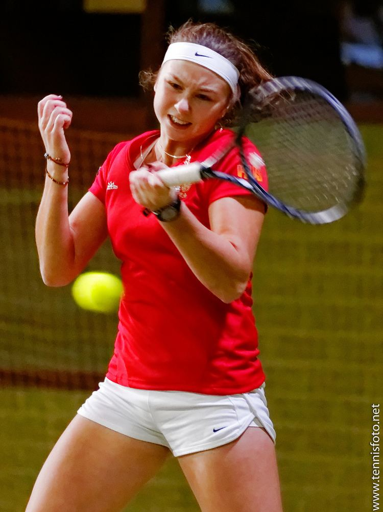 Anastasiya Komardina 13 Anastasiya Komardina Russia Tennis Europe winter c Flickr