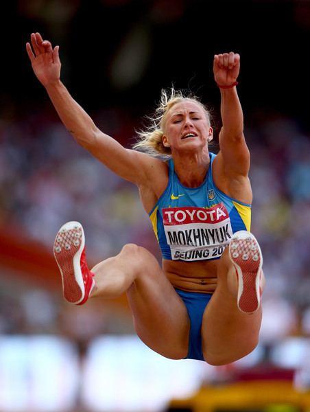 Anastasiya Mokhnyuk Anastasiya Mokhnyuk Photos Photos 15th IAAF World Athletics