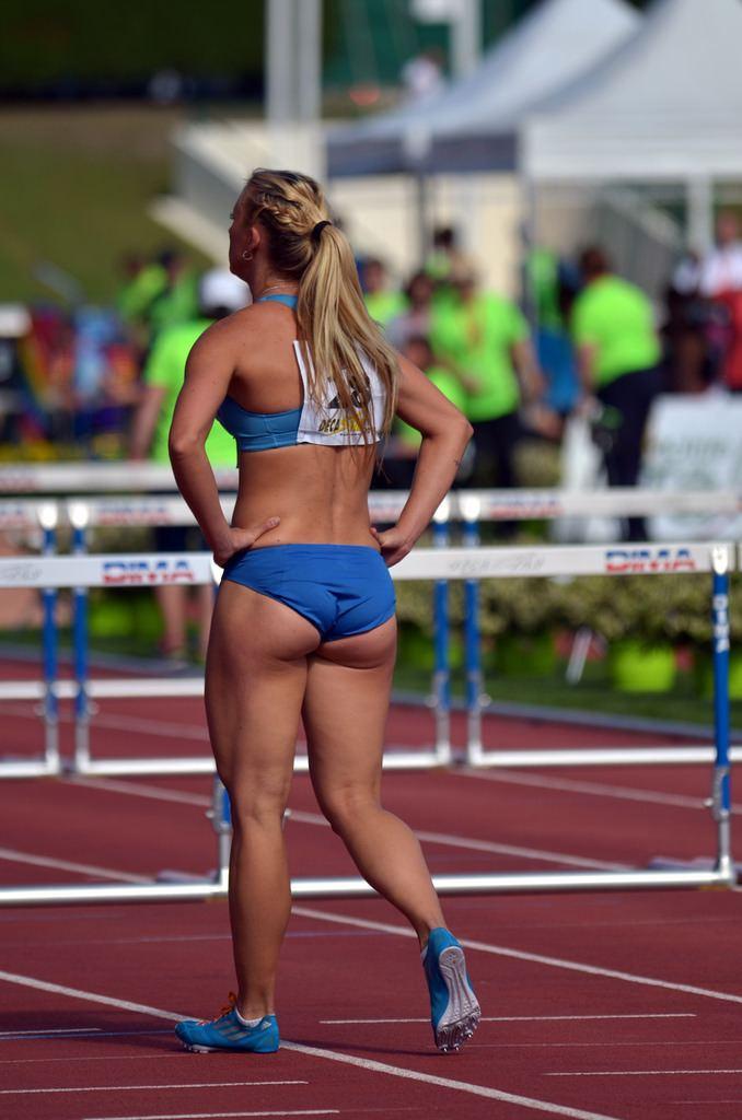 Anastasiya Mokhnyuk Anastasiya Mokhnyuk is a Ukrainian athlete who specialises in the