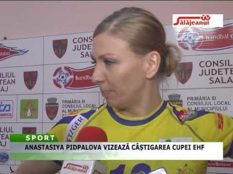 Anastasiya Pidpalova ANASTASIYA PIDPALOVA VIZEAZA CASTIGAREA CUPEI EHF YouTube