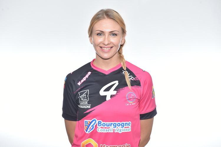 Anastasiya Pidpalova Anastasiya PIDPALOVA Ligue Fminine de Handball