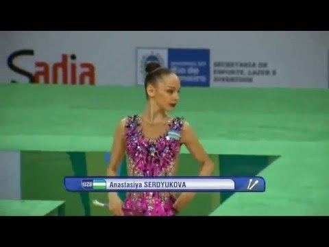 Anastasiya Serdyukova Anastasiya SERDYUKOVA UZB Clubs Test Event 2016 Qual YouTube