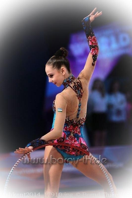 Anastasiya Serdyukova anastasia serdyukova Rhythmic Gymnastics Info