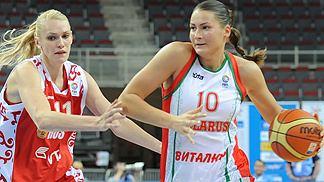 Anastasiya Verameyenka Anastasiya Verameyenka Belarus and Fenerbahce FIBA Europe