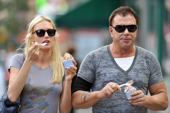 Anastassija Makarenko Anastassija Makarenko Photos Mickey Rourke in the West