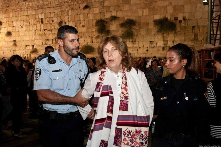 Anat Hoffman Why I Was Arrested for Praying at the Western Wall Anat