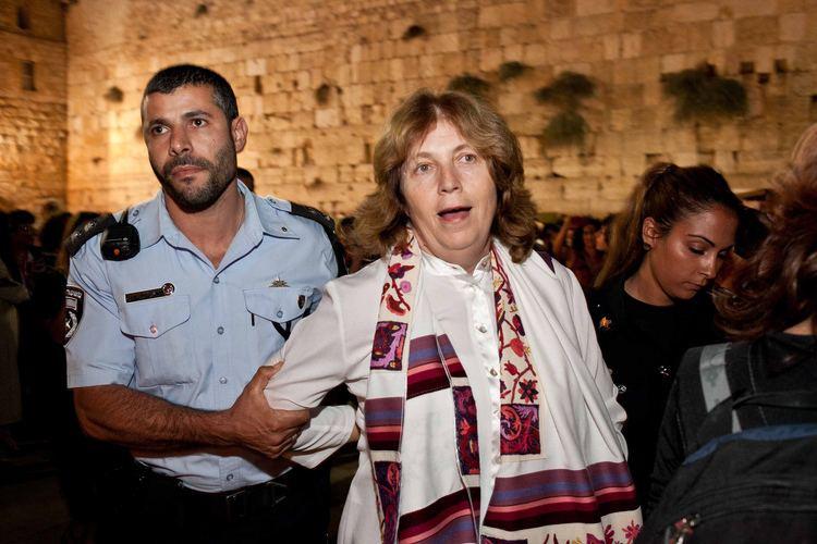 Anat Hoffman Anat Hoffman39s arrest at Western Wall galvanizing liberal