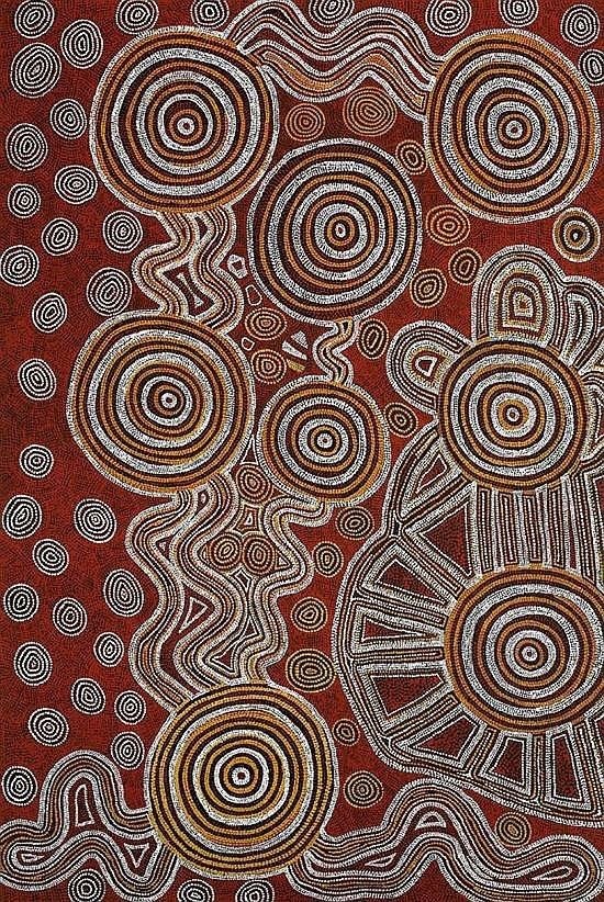 Anatjari Tjakamarra Anatjari Tjakamarra Works on Sale at Auction amp Biography