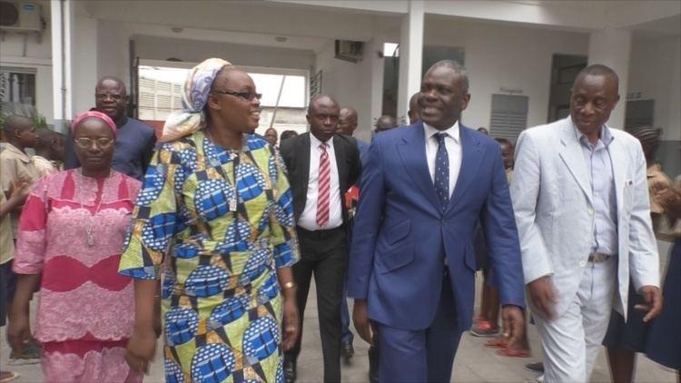 Anatole Collinet Makosso Ecoles prives le ministre Anatole Collinet Makosso sassure de la