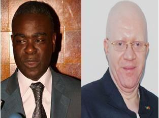 Anatole Collinet Makosso Quand Anatole Collinet MAKOSSO et Thierry MOUNGALLA dcouvrent les