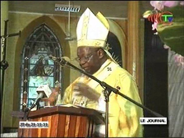 Anatole Milandou Les 120 ans de la cathdrale Sacre cur de Brazzaville vido