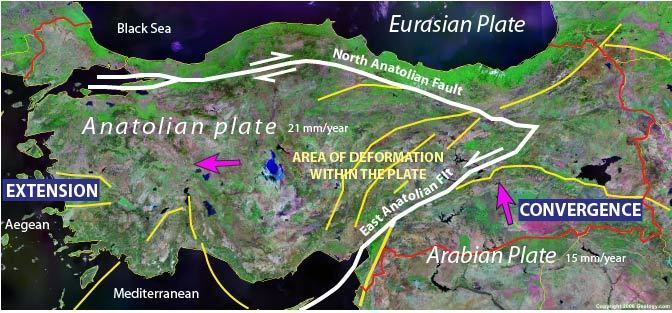 Anatolian Plate CDCAT 101 NonTechnical Description Earth Sciences