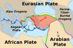 Anatolian Plate Anatolian Plate Wikipedia