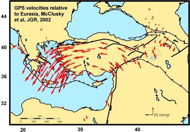 Anatolian Plate Geophys 330450 InSAR Case studies