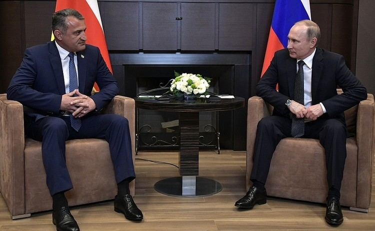 Anatoliy Bibilov Meeting with President of South Ossetia Anatoly Bibilov President