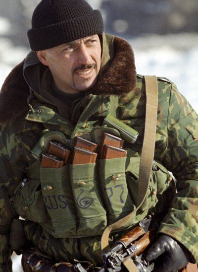 Anatoly Lebed Claimed the life of a combat officer road Encyclopedia