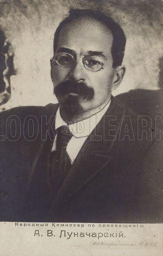 Anatoly Lunacharsky Anatoly Lunacharsky Russian Marxist revolutionary and