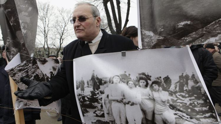 Anatoly Shapiro Auschwitz Ceremony Lays Bare Russian Tension With Europe