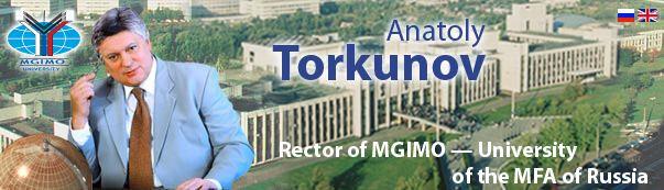 Anatoly Torkunov Anatoly Torkunov Personal Website Biography