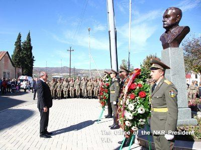 Anatoly Zinevich Monument to Anatoly Zinevich installed in Stepanakert