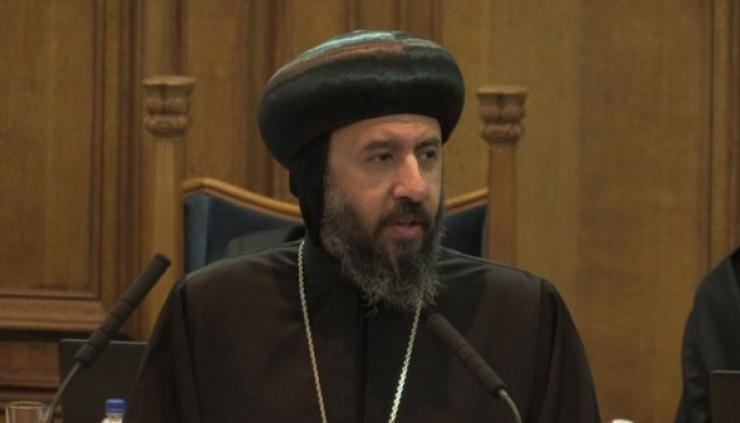 Anba Angaelos HG Bishop Angaelos to receive OBE for services to international