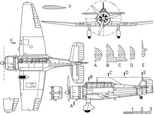 ANBO VIII TheBlueprintscom Blueprints gt WW2 Airplanes gt Various gt ANBOVIII