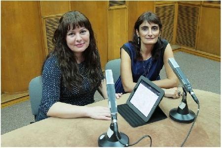 Anca Mateescu GPS Cultural cu Dana Pitrop i Anca Mateescu Arhiv Radio