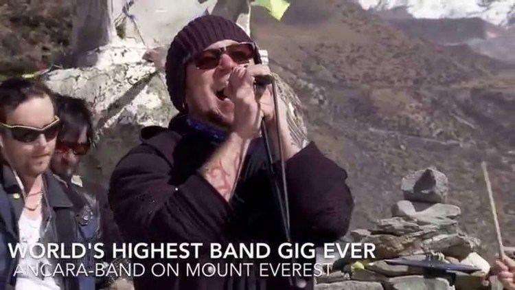 Ancara (band) StaraTV World39s Highest Band Gig Ancaraband Mount Everest 4 700