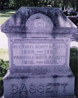 Ancel Henry Bassett Ancel Henry Bassett and his book Bassett Family Association