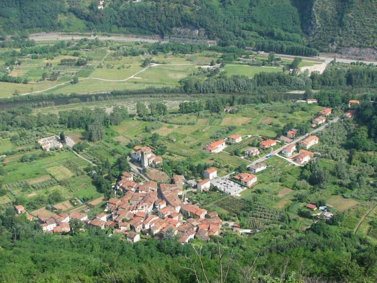 Anchiano Panoramio Photo of Anchiano visto dalla cresta nord del Gallione